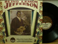 BLIND LEMON JEFFERSON ブラインド・レモン・ジェファーソン / King Of The Country Blues
