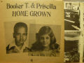 BOOKER T. & PRISCILLA JONES ブッカーT.&プリシラ・ジョーンズ / Home Grown