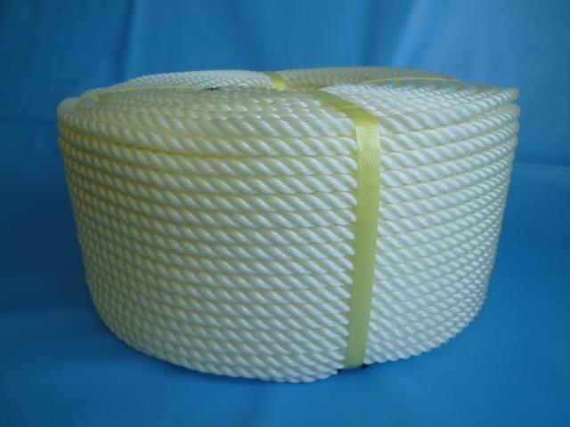 ポリエチレンロープ 白色 直径3mm(200メートル巻き)