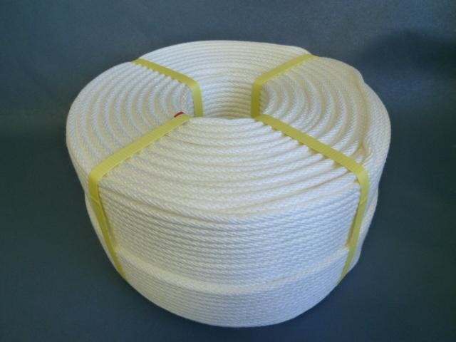 ビニロン(クレモナ)金剛打ちロープ 直径3mm(300メートル巻き)