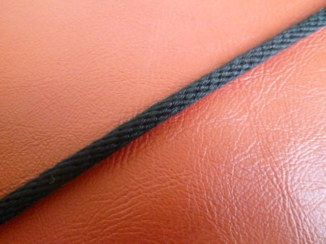 クレモナ金剛打ちロープ 黒色(原着糸) 直径3mm(切り売り品)メートル単位最大200メートル