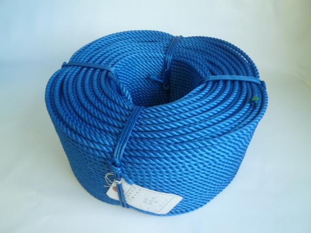 ポリエチレンロープ 青色 直径5mm(200メートル巻き)
