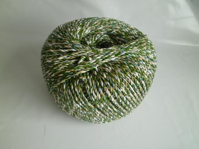 雑色ロープ 直径4mm ミックスカラー 2.5kg巻