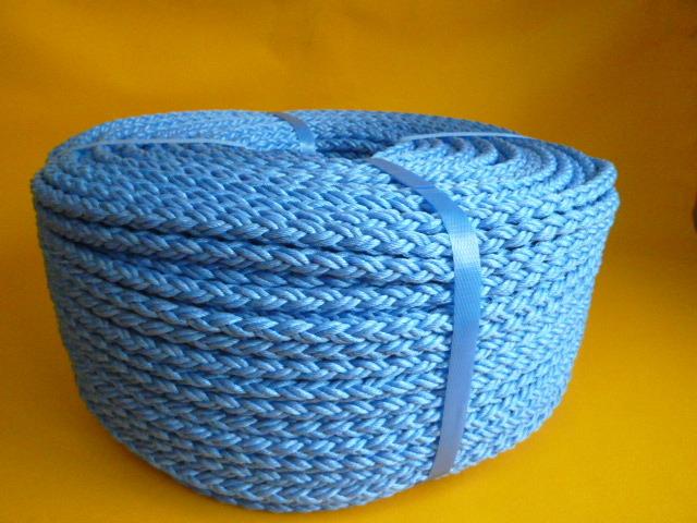 ダンスーパーPPクロスロープ ブルー 直径10mm(200メートル巻き)