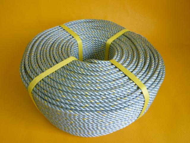 ダイヤスーパーPPロープ GG色 直径6mm(200メートル巻き)