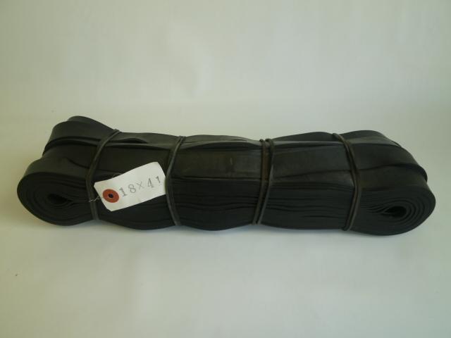 ゴムロープ 平タイプ 18mm巾×41m 輸入チューブ品