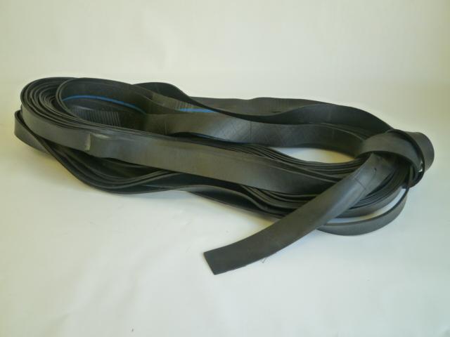 ゴムロープ 平タイプ 21mm巾×20m 国産チューブ品