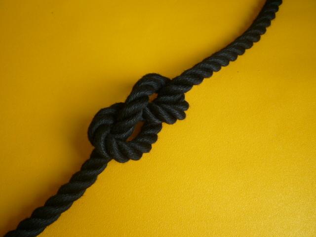 ポリエステルスパンロープ 黒色 直径16mm(切り売り品)メートル単位 最大100メートル