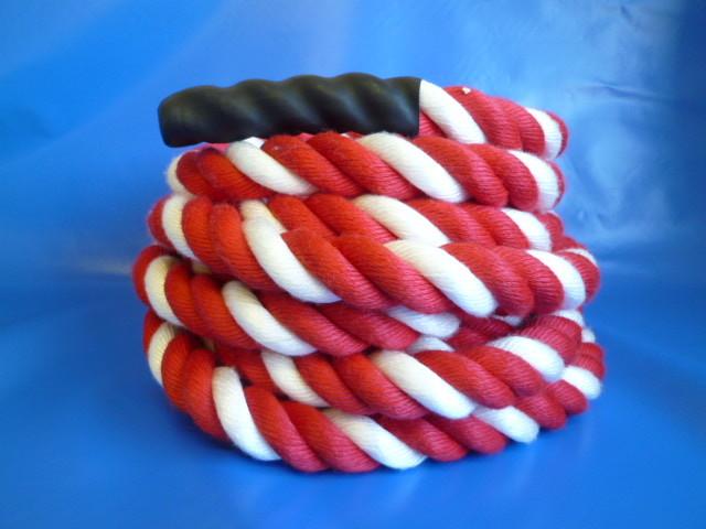 綱引きロープ紅白ロープ  直径30mm×7m
