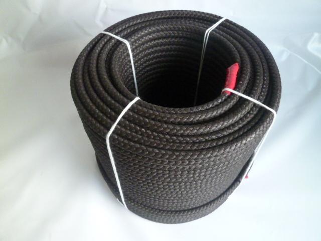 公団ロープワイヤー芯入り ブラウン色 直径10mm(200メートル巻き)