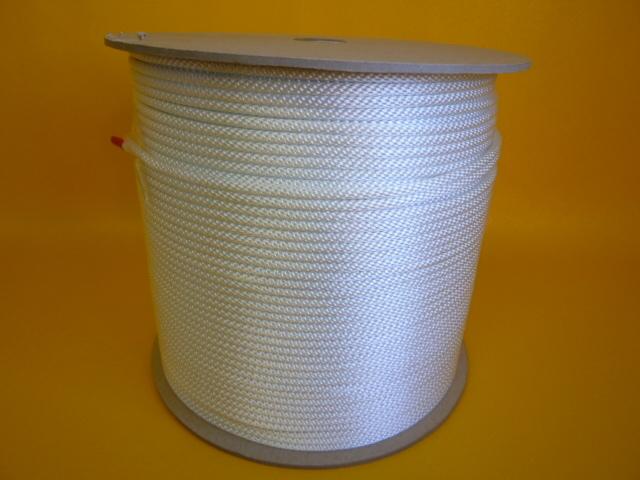 ナイロン金剛打ちロープ 直径2.5mm(300メートル巻き) 取寄品
