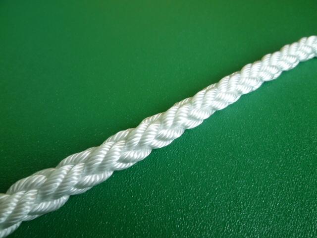 ナイロンクロスロープ 直径6mm(切り売り品)メートル単位 最大200mまで