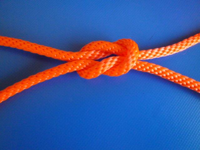 蛍光オレンジ PPマルチ12打ちコードロープ 直径6mm(切り売り品)最大99mまで