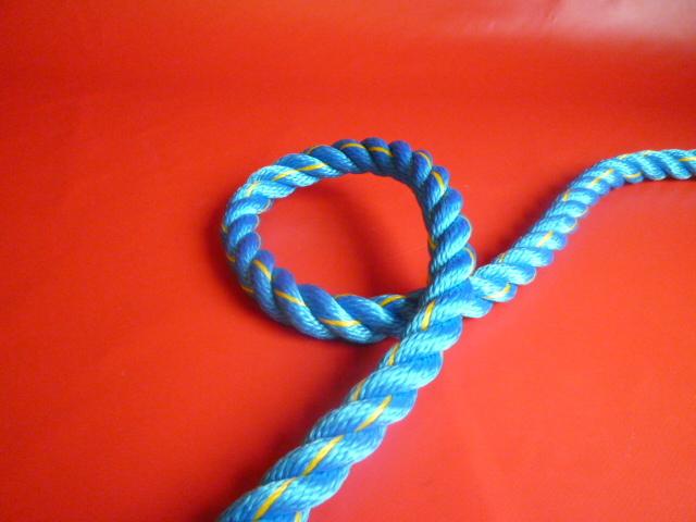 ニューテトロンロープ青色 直径16mm(切り売り品)メートル単位 最大100メートル