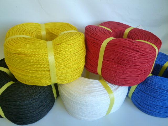 PPマルチ八打ちロープ カラー 直径4mm(300メートル巻)