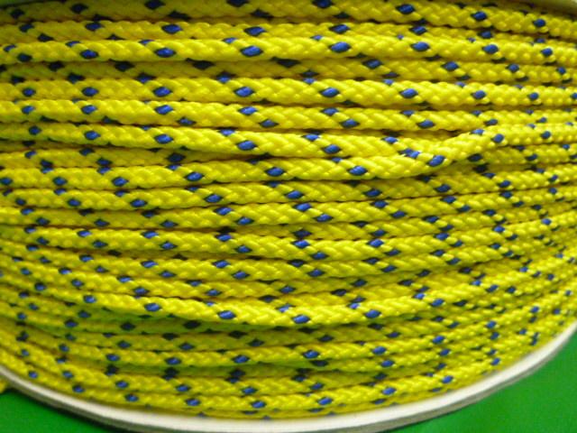 PPマルチコード 黄 直径3mm(300メートルボビン巻き)
