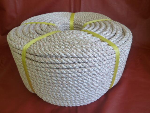 シルピー混撚ロープ カッチ 直径6mm(200メートル巻き)