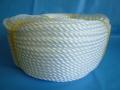 PP(ポリプロピレン)フィルムロープ 白色 直径4mm(200メートル巻き)