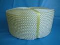 ポリエチレンロープ 白色 直径3 mm(200メートル巻き)
