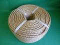 麻ロープ(染サイザル) 直径6mm(200メートル巻き)