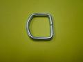 ゴムロープ用金具 18〜21mm平ゴム用 D環