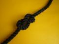 ポリエステルスパンロープ 黒色 直径16mm(切売り品)メートル単位 最大100メートル