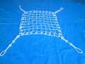 特注 ロープモッコ ビニロンロープ約1.45m×約8m 10x56マス 内10外12 4角ロープなし