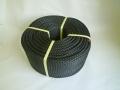 ポリエチレンロープ 黒色 直径9mm(200メートル巻き)
