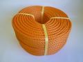 ポリエチレンロープ オレンジ色 直径8mm(200メートル巻き)