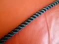 ポリエステルマルチフィラメントロープ 黒色 直径16mm(切売り品)メートル単位 最大100メートル