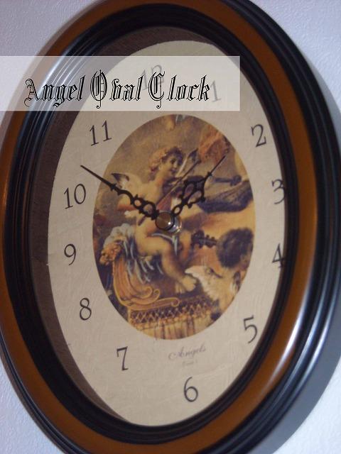 天使の壁掛け時計