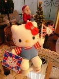 ハロッズ キティ  イギリス国旗