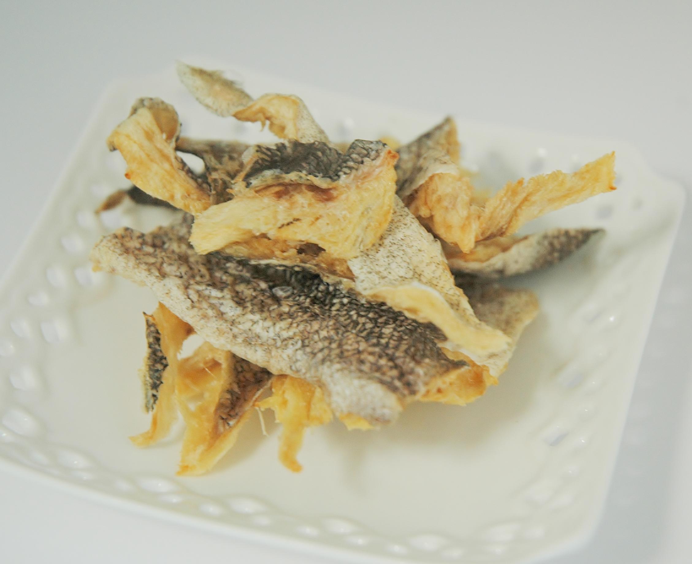 白身魚ミニフィレ 35g 犬猫用無添加自然食おやつ サクサク食感のお魚ジャーキー