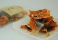 犬用自然派おやつ【サーモンミニフィレ】40g 希少な北海道産秋鮭を使用したサクサクジャーキー!栄養豊富で健やかな身体作りに♪