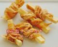 正統派の美味しさを 無添加おやつ 国産鶏ささみ巻きチーズ 55g