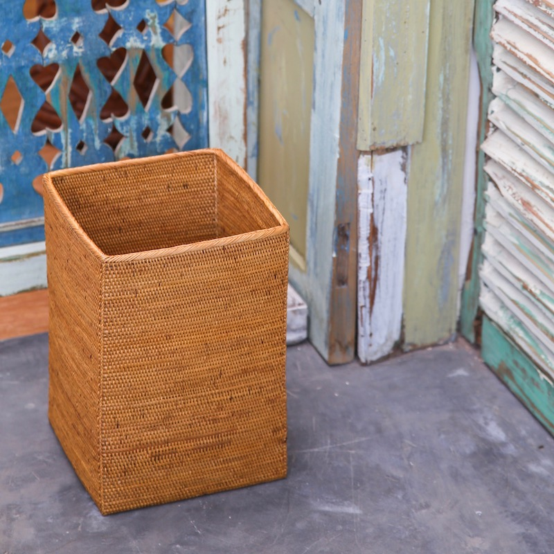 リビングボックスSサイズ (BOX352)  Rosily(ロージリー) バリ島 アタかご雑貨 収納バスケット