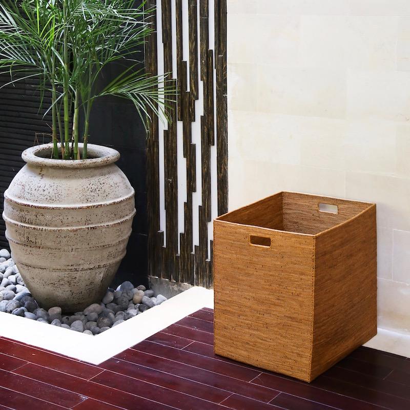 リビングボックス LLサイズ (BOX396)  Rosily(ロージリー) バリ島 アタかご雑貨 収納バスケット