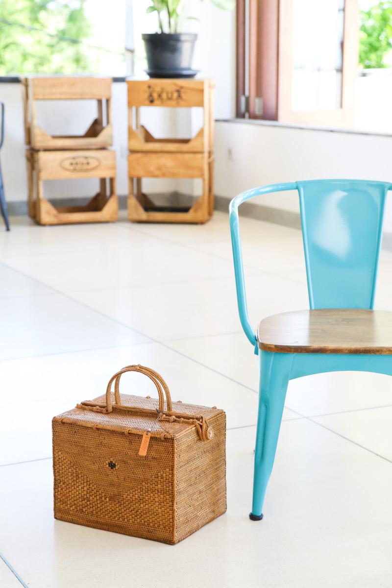 コスメボックス3点SET (PNC167)  Rosily(ロージリー) バリ島 アタバスケット 茶籠 裁縫箱