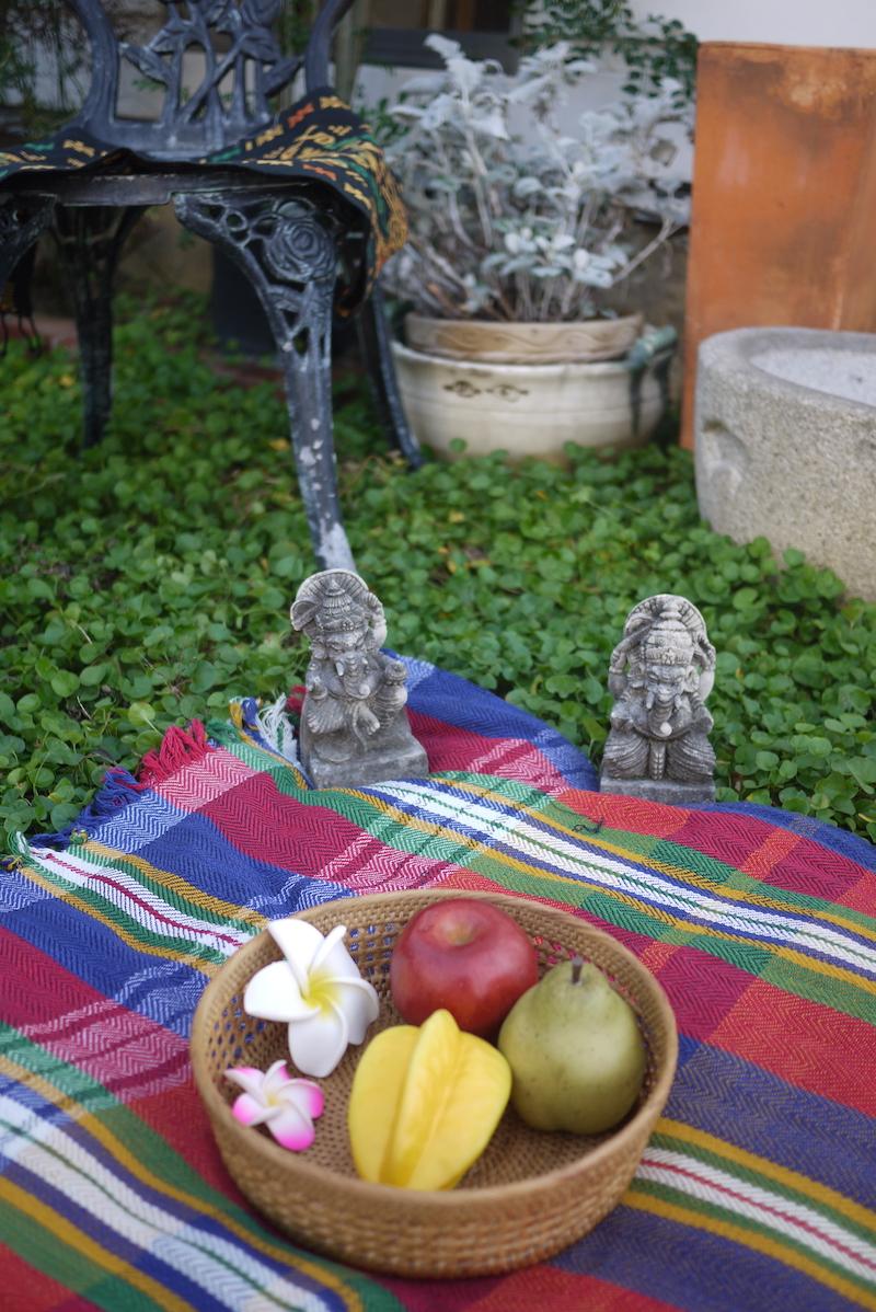 Rosily(ロージリー) バリ島 アタかご雑貨 編み編み果物カゴ(TRY298)