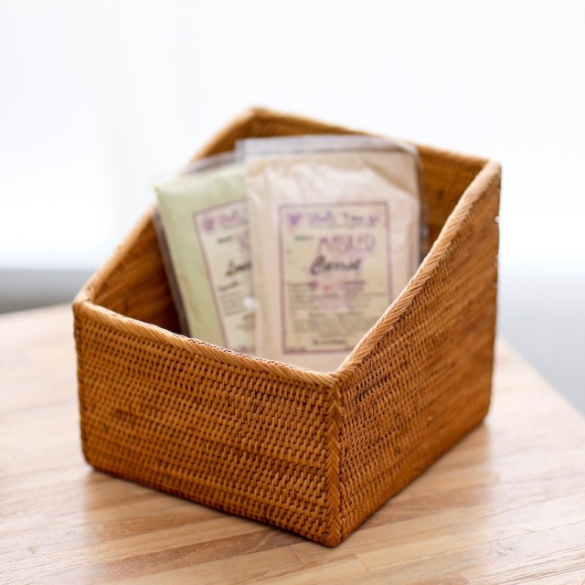 スパイス入れSサイズ (BOX371)  Rosily(ロージリー) バリ島 アタかご雑貨