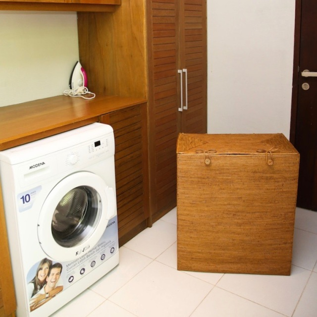 リビング収納中仕切蓋付き (BOX400)Rosily(ロージリー) バリ島 アタかご雑貨