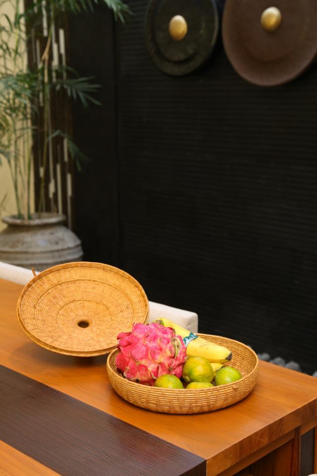 Rosily(ロージリー) バリ島 アタかご雑貨 タジン鍋 LL (BOX433)