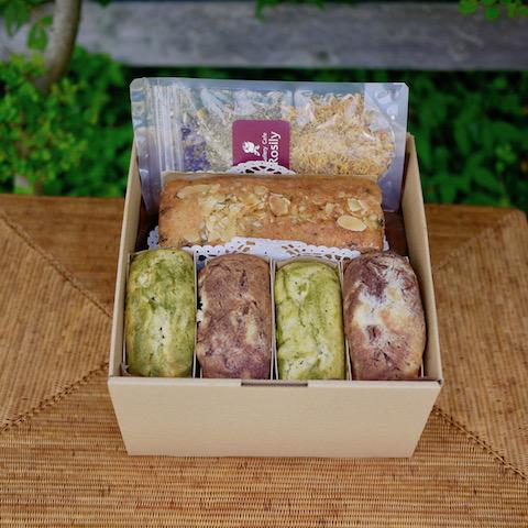 Rosily(ロージリー) ナチュラルスイーツ 無添加 手作り 米粉のケーキセット (GCR097)