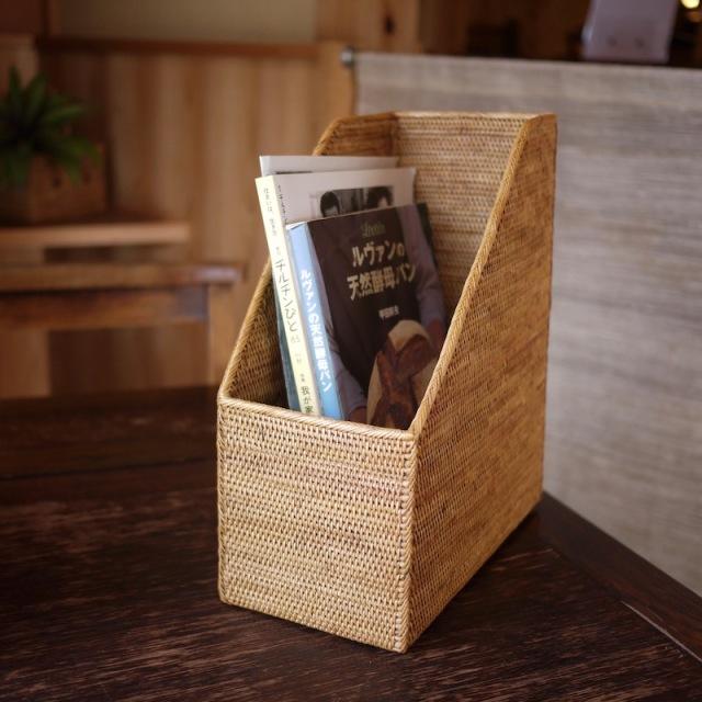 書類立て1枠 (RCB262)  Rosily(ロージリー) バリ島 アタかご雑貨
