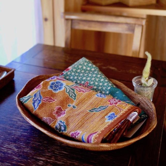 波形トレイLLサイズ  (TRY297)  Rosily(ロージリー) バリ島 アタかご雑貨 キッチン収納