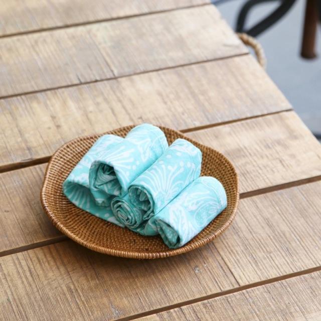 波型浅皿Sサイズ (TRY335)  Rosily(ロージリー) バリ島 アタかご雑貨