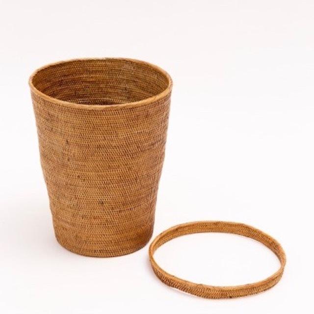 シンプルダストボックスLサイズ  (DST211)  Rosily(ロージリー) バリ島 アタかご雑貨
