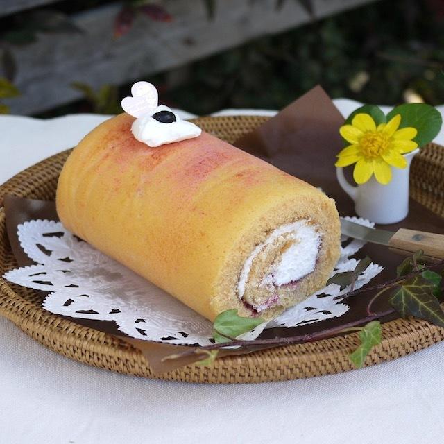 Rosily(ロージリー) ナチュラルスイーツ 紅麹のロールケーキ(本店店頭でのご購入のみ)