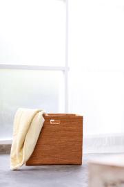 Rosily(ロージリー) バリ島 アタかご雑貨 リビングボックス穴開きL(BOX397)