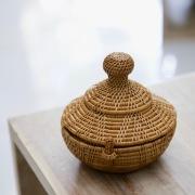 タジン鍋Sサイズ (BOX430)  Rosily(ロージリー) バリ島 アタかご雑貨